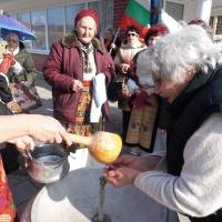 Клубът на хората с увреждания и клубът на пенсионерите в с. Ленково отпразнуваха Бабинден