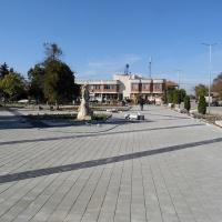 Текат ремонтите на площади в четири населени места