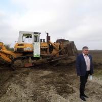 Откриване на строителна площадка за рекултивация на старото общинско депо за отпадъци в Гулянци